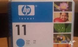 HP INK 11 CYAN Descriptive Colour - Cyan Ink/Toner