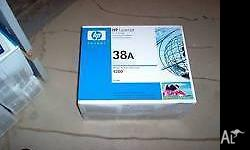 HP4200 toner cartridge 38A genuine unopened Worth over
