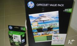Brand new HP 940XL OFFICEJET Value Pack Ink Cartridge-