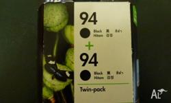 Unopened - twin pack (I.e. 2 cartridges) Suits: - HP