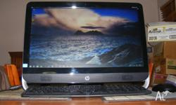 HP ALL IN ONE ULTRA THIN ONE AND A HALF YRS OLD WINDOWS