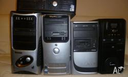 HP DELL AMD+P4 +CORE 2 DUO WI FI PCS 2*4*8G RAM WIN7