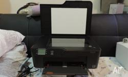 All in one printer with less than 1 year of use. It can