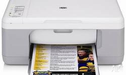 HP Deskjet F2280 All-in-One Printer Colour printer and