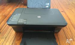 HP desktop 2050 A4 printer/scanner. Comes with 4
