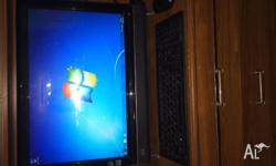 Great condition HP desktop PC. Has been reformatted and