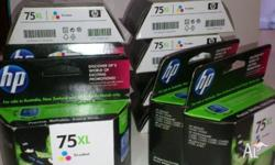 SALE ON ORIGINAL HP INKS: HP75XL TRI-COLOUR X 12 - WAS