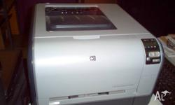 HP CP1515n colour laser printer. Not working correctly,