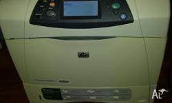 HP laserjet 4350dtn printer work group laserjet MONO