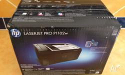 What's Included: LaserJet Pro P1102w Wireless Printer