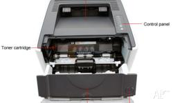 � Reliable, professional-grade monochrome LaserJet