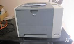 Laserjet P3005DN Needs new fuser assy. Has good genuine