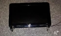 Complete Upper LCD assembly including LCD, Webcam,