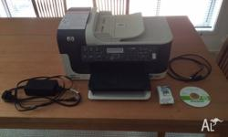 HP Officejet J6480 All-in-One Printer. Colour Print /