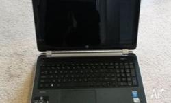 Selling a HP Pavilion 15-n028tx. Was purchased