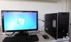 I am selling a HP Pavilion a6460a Desktop PC with AMD