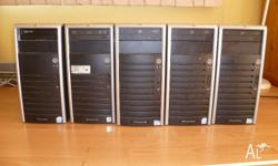 HP PROLIANT ML110 G5 AND DELL POWEREDGE SC1430 SERVERS