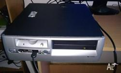 selling a used hp small factor desktop pc, fully