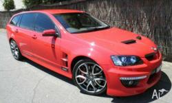 HSV, CLUBSPORT, E2 SERIES, 2010, RWD, Red Hot, 4D