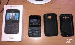 Excellent condition unlocked black htc ChaCha A810b