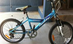 Huffy 6 speed kids bike good tyres reasonable condition