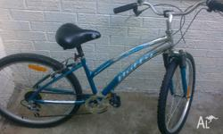"Huffy Cruiser 26"" in as new condition with bike cover."