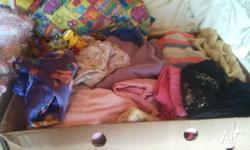 Over 50 items of clothing in used condition. A few