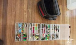 Selling my huge collection of fishing tackle, includes