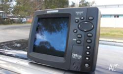 never used humminbird fishfinder gps combo ,was