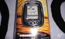 humminbird piranha max 150 fish finder brand new sealed