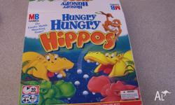 Hungry Hippos ages 4+ has 19 of the 24 balls otherwise