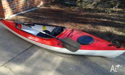 Hurricane Kayak in excellent condition. $800 ONO. Phone