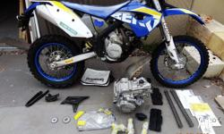 Husaberg 2010 FE 570 plus a spare engine with a top and