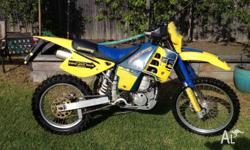 Husaberg Enduro bike in good condition.2nd owner.Has