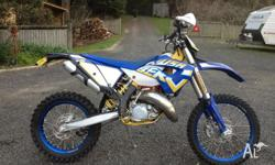 For sale Husaberg TE125. 30.3 hours on the clock.
