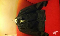 Huski suede leather jacket size medium to large, one