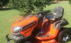 Husqvarna YT48XLS with Kawasaki 24Hp Twin Engine and