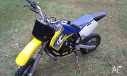 HUSQVARNA 50cc Motorbike - Good Condition - Well Looked