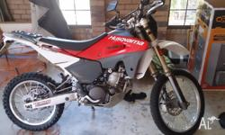 2007 te 610. New condition only 1800km no off road