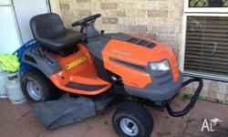 Husqvarna LT1597 ride on mower Purchased new in 2010