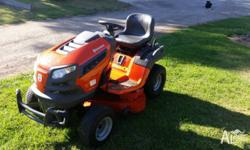Almost brand new Husqvarna ride on mower, 2012 model