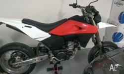 Here is my Husqvarna SM610. This is a late 2005 model