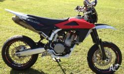 Up for sale is my loved smr 510 motard. It is great