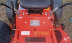Zero turn x Demo 39 hrs like new mower Husqvarna get