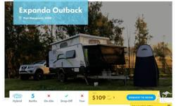 Type: Hybrid Model: Jayco Expanda Outback Year: 2015