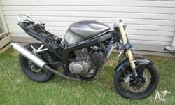 2007 HYOSUNG GT250R FOR SALE GOOD FOR WRECKING OR SELL