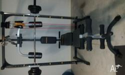 Hyper Extension complete home gym comes with everything