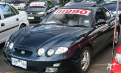 HYUNDAI,COUPE FX,RDII,2000, FWD, BLUE MT, 2D COUPE,