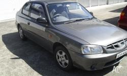 Make: Hyundai Model: Accent Mileage: 193,000 Kms Year: