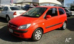 HYUNDAI,Getz,TB MY07,2007, Front Wheel Drive, Red, 3dr
